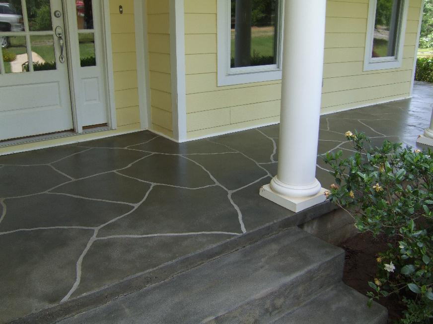 Concrete Porch Steps Ideas - Home Design & Architecture - Cilif.com